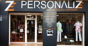 Tienda PERSONALIZE ropa laboral, ropa deportiva, ropa casual, ropa escolar, ropa para hostelería, ropa para industria, ropa para sanidad y limpieza, merchandising, artículos personalizados.
