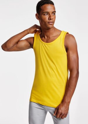 Camiseta de algodon de tirantes anchos