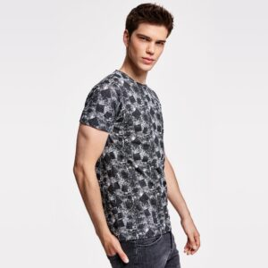 Camiseta estampada algodón de Roly